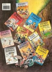 Verso de Pierre Tombal -7a1992- Cas d'os surprise