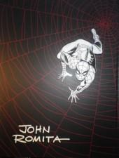 Verso de The amazing Spider-Man Vol.1 (Marvel comics - 1963) -INT- John Romita's The Amazing Spider-Man Artist's Edition