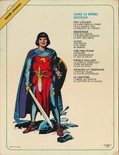 Verso de Prince Vaillant (Hachette) -4- Le roi de Thulé