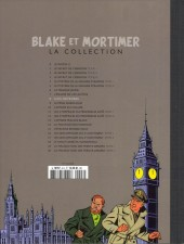 Verso de Blake et Mortimer - La collection (Hachette) -8- S.O.S. météores