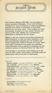 Verso de (AUT) Franquin -2- L'homme qui devint gorille