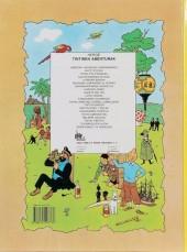 Verso de Tintin (en langues régionales) -22Basque- Sidneyrako 714 Hegaldia