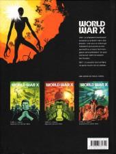 Verso de World War X -2- Kharis