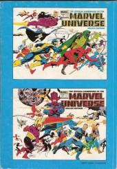 Verso de Marvel Universe (LUG) -2a- De