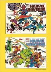 Verso de Marvel Universe (LUG) -3a- Volume 3 : De