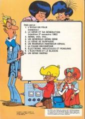 Verso de Génial Olivier -1a- L'école en folie