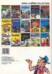 Verso de Sammy -11a1983- Deux histoires de gorilles