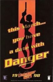 Verso de Danger Girl (1998) -0- Prelude to danger!