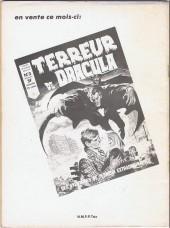 Verso de Zombie (France Sud Publications / Bois de Boulogne) -3- La malédiction de Malaka
