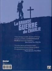 Verso de La grande Guerre de Charlie -4- Volume 4