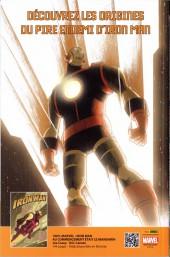 Verso de Iron Man (Marvel France - 2012) -10- Le Dieu Vaisseau