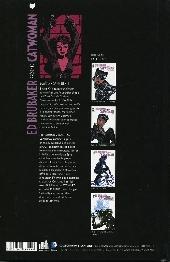 Verso de Catwoman (Ed Brubaker présente) -3- Sans répit