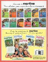 Verso de Martine - HS8- Les amis de martine à la maison