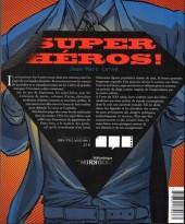 Verso de (DOC) La Bibliothèque des miroirs - BD - Super-héros ! la puissance des masques