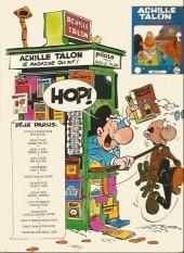 Verso de Achille Talon -1b76- Les idées d'Achille Talon cerveau-choc !