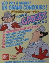 Verso de Inspecteur Gadget (1re série - Greantori) -9- Au cirque