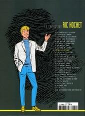 Verso de Ric Hochet - La collection (Hachette) -60- Crime sur Internet