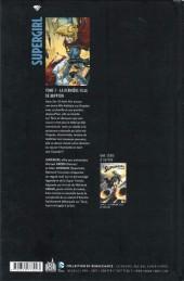 Verso de Supergirl (Urban Comics) -1- La dernière fille de Krypton