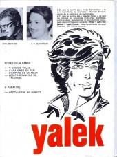 Verso de Yalek -4- Les prisonniers de Yacomac