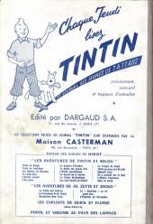 Verso de (Recueil) Tintin (Album du journal - Édition française) -42- Tintin album du journal