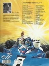 Verso de Michel Vaillant -47a1993- Panique à Monaco