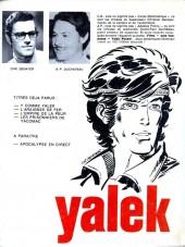 Verso de Yalek -3a- L'empire de la peur
