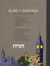 Verso de Blake et Mortimer - La collection (Hachette) -9- Le piège diabolique