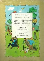 Verso de Tintin (Historique) -6B16- L'oreille cassée