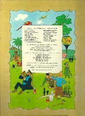 Verso de Tintin (Historique) -6B40- L'oreille cassée