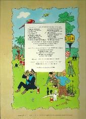 Verso de Tintin (Historique) -7B38Bis- L'île noire