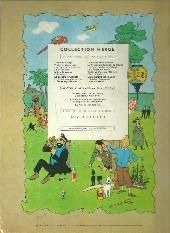 Verso de Tintin (Historique) -7B26- L'île noire