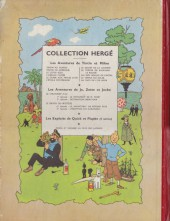 Verso de Tintin (Historique) -9B07- Le crabe aux pinces d'or