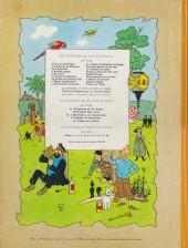 Verso de Tintin (Historique) -12B33- Le trésor de Rackham Le Rouge