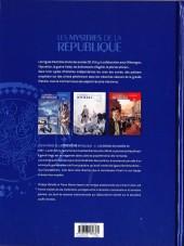 Verso de Les mystères de la Troisième République -1- Les démons des années 30