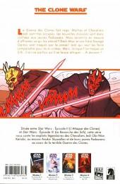 Verso de Star Wars - The Clone Wars -4- Mission 4 : Les chasseurs de Sith