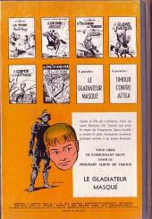 Verso de Les timour -6- Le fils du centurion