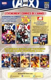 Verso de Marvel Universe (Panini - 2012) -7- Une Rencontre Destructrice