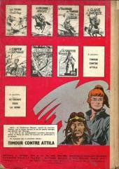 Verso de Les timour -7- Le gladiateur masqué
