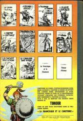 Verso de Les timour -10- Le cavalier sans visage