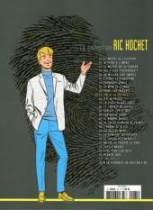 Verso de Ric Hochet - La collection (Hachette) -61- Le jeu de la potence