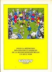 Verso de Blondin et Cirage -4a- Les nouvelles aventures de Blondin et Cirage