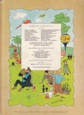 Verso de Tintin (Historique) -12B35bis- Le trésor de Rackham Le Rouge