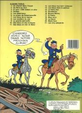 Verso de Les tuniques Bleues -12b1984- Les Bleus tournent cosaques