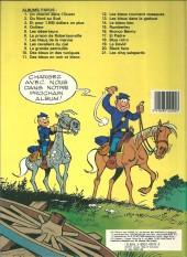 Verso de Les tuniques Bleues -13b1984- Les bleus dans la gadoue
