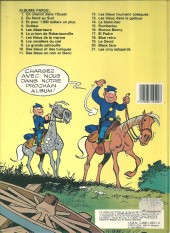 Verso de Les tuniques Bleues -20b1984- Black Face
