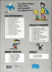 Verso de Les schtroumpfs -1b92- Les Schtroumpfs noirs