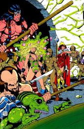 Verso de Marvel Fanfare Vol. 1 (Marvel - 1982) -4- (sans titre)