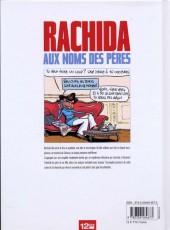 Verso de Rachida aux noms des pères