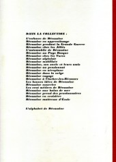 Verso de Bécassine -4c- Bécassine mobilisée