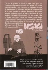 Verso de Usagi Yojimbo -25- Volume 25